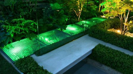 Another great way of adding lighting to your outdoor space