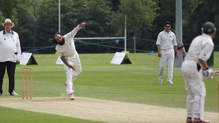 Ahsan Ali steps up with a delivery