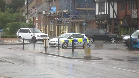 A woman has been hit by a bus in St Peter's Street, St Albans