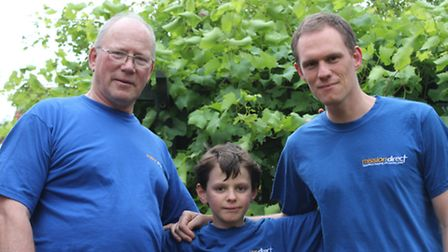 Graham, Adam and Dan Went from St Neots will be travelling to Zimbabwe with Mission Direct to help b