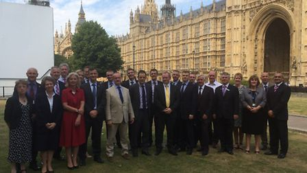 Head teachers from St Albans district met at Westminster to lobby on behalf of schools throughoutHer