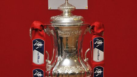 The FA Cup paid a visit to Royston Town FC