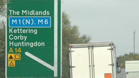 A14 signs STOCK