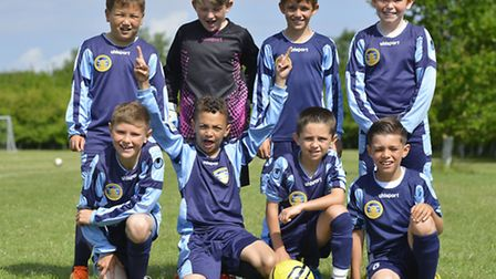 Huntingdon Rowdies football tournament - Under 9 winners St Neots Town. Picture: DUNCAN LAMONT