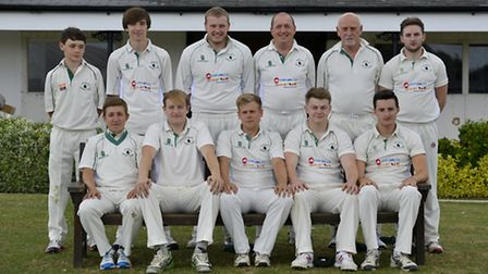 Warboys 2nds pictured ahead of their victory against Huntingdon & District 2nds on Saturday.