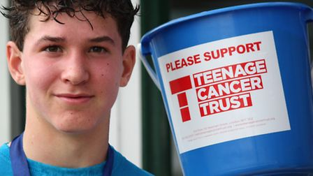 14 year old, Roystonian, Ewan Rees, who has been involved in two previous similar charity runs, was