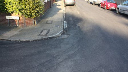 Residents of Ladysmith Road, unhappy with resurfacing job