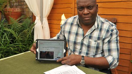 Ayo Ogundimu has set up a petition to reopen the hydro therapy pool at St Albans Hospital after a ca