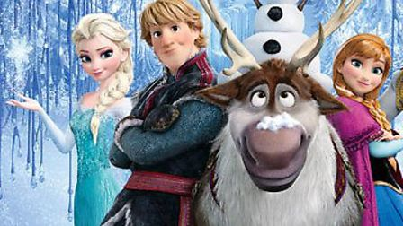 Disney characters like those from Frozen are being used to help children get active