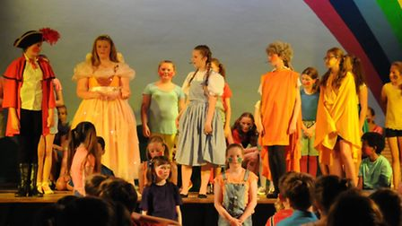 Greneway Middle School production of the Wizard of Oz, July 2015