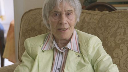 A still of Kitty Hart-Moxon from the short video introducing the Kickstarter campaign for Kitty's Fo