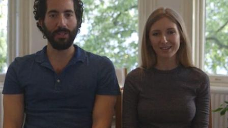 Director of Kitty's Fortune, Adam Baroukh & writer Sophie Shad