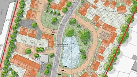 How the proposed development in Somersham could look.