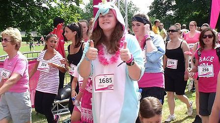 St Albans Race for Life 2014
