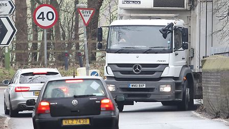 Colney Heath residents face a huge increase in the number of lorries along local roads