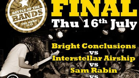 Battle of the Bands final poster