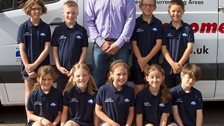The Round House Primary Academy, St Neots, new sports kit kindly donated to us by Rob Stockley of On