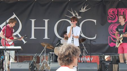 The Interval Act perform at Royston's Summer Soul