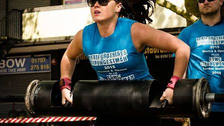 Britain's Strongest Women 2015 is taking place at 1Life Abbey View on Sunday. Picture: Adam James Ph