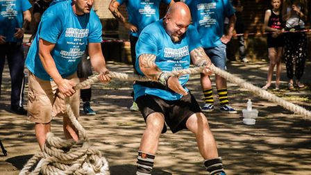 St Albans First Timers Strongman event takes place this Sunday at 1Life Abbey View. Picture: Adam Ja