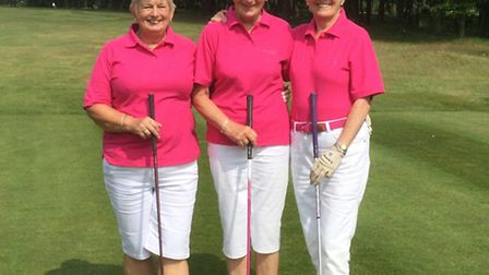 Carole Tipple, Ann Nash and Diane Else - not sure which is which and it took best part of a week for