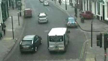 Essex Police YouTube video showing Colin Horsfall losing control of his vehicle