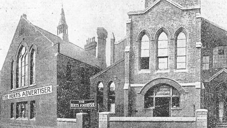 The Herts Ad's offices in Dagnall Street