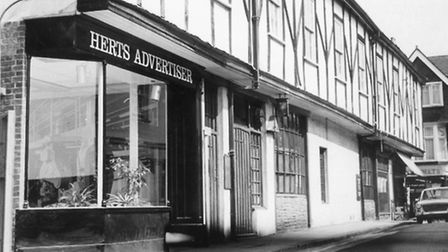 The Herts Ad's offices