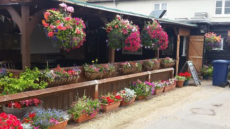 The Barley Mow won an award for the best pub and club garden.