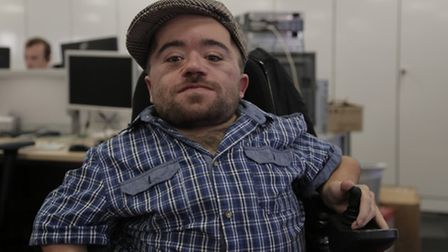 Dom Hyams wants people to be on the look out for the stolen wheelchair