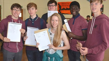 GCSE Results, at St Peters School, Huntingdon,