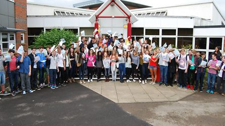Sandringham School pupils did very well with their GCSEs