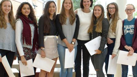 St Albans High School for Girls celebrated very good GCSE results