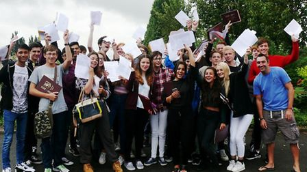 Beaumont School pupils were thrilled with their results