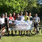 Team FORGE Isle of Wight Cycle Challenge