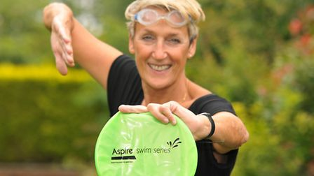 Nuffield swimming coach Jan Morse is taking part in a cross channel swim to raise money for the Aspi