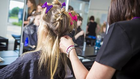 Huntingdonshire Regional College offers part-time courses in hair and beauty