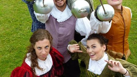 The Three Musketeers is on at Fowlmere Village Hall.