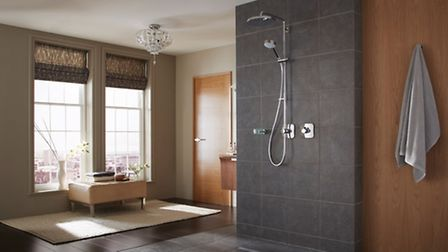 Mira Adept BRD+ thermostatic mixer shower, available from mirashowers.co.uk. PA Photo/Handout