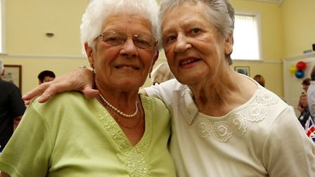 Betty Jackson and Marie Parker
