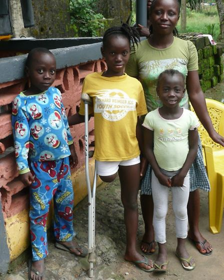 ELoH paid Victoria's school fees and have arranged medical assesments so that she will soon have a p