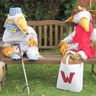 Flamstead Scarecrow Festival 2014: The Wombles. Photo courtesy of Paul McMahon