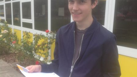 Daniel Gee will be going to the University of East Anglia.
