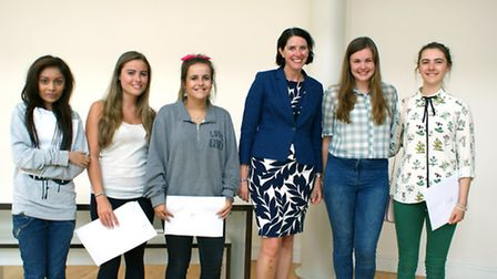 St Albans High School for Girls celebrating outstanding results