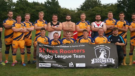 St Ives Roosters were beaten in the East Premier League Grand Final. Picture: LEIGH CHATTEN
