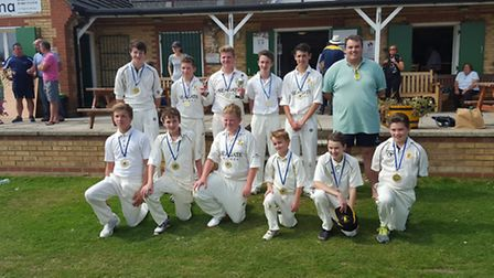 Ramsey Under 15s won the Hunts county final.