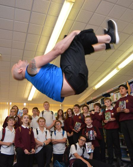 St Ivo School Literacy Festival, with a visit from Author Marcus Alexander,
