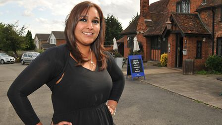 Owner of Bhaker House coffee shop Jenny Kaur is happy that the plan for Sainsbury's to build a store