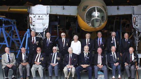 17 of the veterans visited the museum