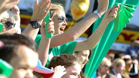 Volunteer to give encouragement to fundraising runners at an NSPCC cheer point.